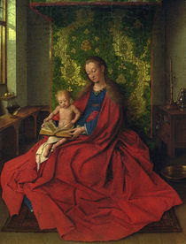 Jan van Eyck, Madonna und Kind by AKG  Images