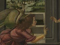 Botticelli, Verkuendigung, Engel by AKG  Images