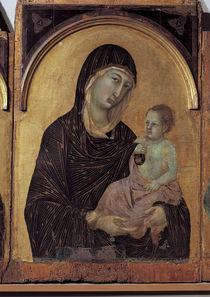 Duccio u.Werkstatt, Maria mit Kind by AKG  Images