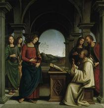P.Perugino, Vision des Hl.Bernhard by AKG  Images