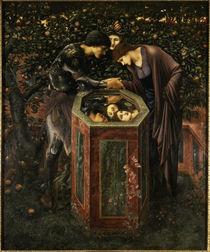 Burne Jones, Das Schreckenshaupt/1887 von AKG  Images