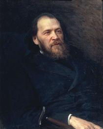 J.Polonskij / Gemaelde von Kramskoj 1875 von AKG  Images