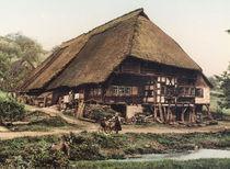 Schwarzwaldhaus / Photochrom von AKG  Images