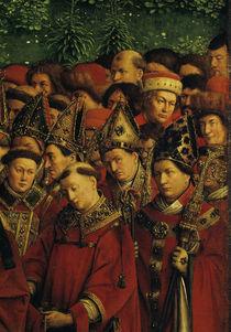 Bischoefe, Aebte, Laien/v.Eyck,Genter Alt. von AKG  Images