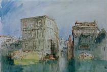 W.Turner, Venedig: Die Casa Grimani... by AKG  Images