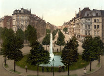 Koeln, Hohenstaufenring / Photochrom by AKG  Images