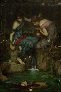 Waterhouse / Nymphen m.Haupt des Orpheus by AKG  Images