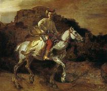Rembrandt, Der polnische Reiter von AKG  Images