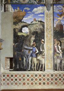 A.Mantegna, Diener mit Pferd u.Hunden von AKG  Images