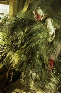 Anders Zorn, Auf dem Heuboden/1892 by AKG  Images