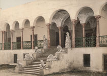 Tunis, Bardo, Loewentreppe / Photochrom by AKG  Images