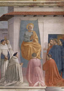 Masaccio, Petrus in Cathedra by AKG  Images