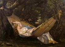 G.Courbet, Die Haengematte von AKG  Images