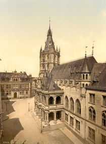 Koeln, Altes Rathaus / Photochrom by AKG  Images