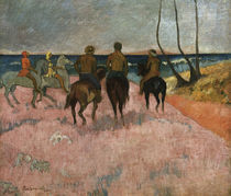 P. Gauguin, Reiter am Strand by AKG  Images