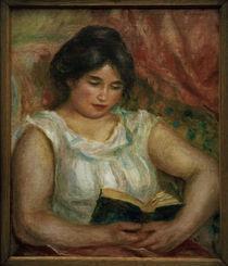 A.Renoir, Gabrielle bei der Lektuere von AKG  Images