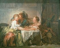 J.H.Fragonard, Der verspielte Einsatz by AKG  Images