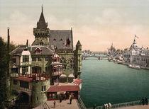Paris, Weltausstellung 1900 /Photochrom by AKG  Images