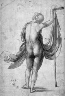 A.Duerer, Studie weiblicher Rueckenakt by AKG  Images