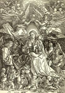 Duerer, Maria als Koenigin der Engel by AKG  Images