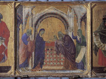 Duccio, Darstellung im Tempel by AKG  Images