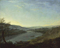 A.Graff, Die Elbe bei Blasewitz am Morg von AKG  Images