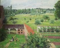 Pissarro/Blick aus m.Fenster,Eragny by AKG  Images