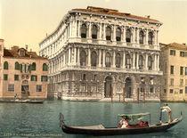 Venedig, Ca' Pesaro / Photochrom von AKG  Images