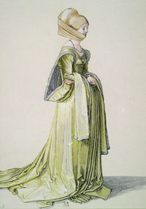 A.Duerer, Nuernbergerin im Tanzkleid by AKG  Images