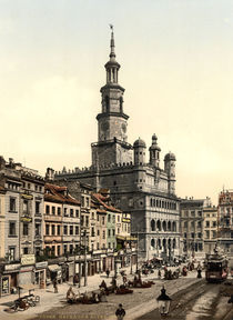 Posen, Rathaus / Photochrom by AKG  Images