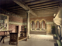 Wartburg, Saengersaal / Photochrom by AKG  Images