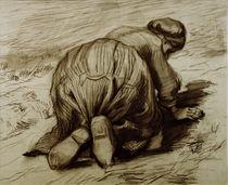 Vincent van Gogh, Kniende Baeuerin von AKG  Images