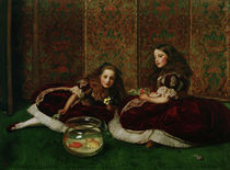 J.E.Millais, Leisure Hours von AKG  Images