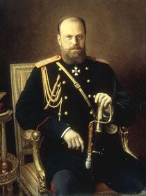 Alexander III. von Russland / Kramskoi von AKG  Images