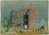 William Turner, Porta Nigra, Trier by AKG  Images
