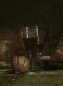 J.B.S.Chardin, Stilleben mit Olivenglas von AKG  Images