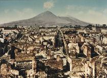 Pompeji, Blick ueber Ausgrabungen / 1900 von AKG  Images