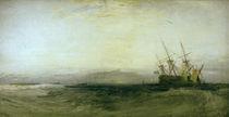 W.Turner, Ein auf Grund gelauf.Schiff by AKG  Images