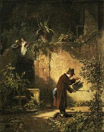 Carl Spitzweg/ Der Gartenfreund/um 1860 by AKG  Images
