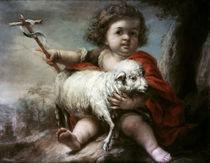 Murillo, Johannes der Taeufer als Kind von AKG  Images