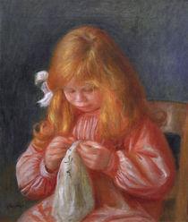 Jean Renoir, naehend/Gemaelde v. A.Renoir von AKG  Images