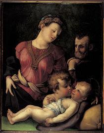 nach Bronzino, Hl.Familie mit Johannes von AKG  Images