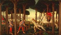 Botticelli, Geschichte des Nastagio I. by AKG  Images