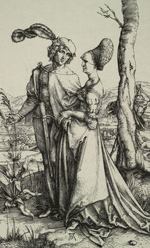A.Duerer, Edelmann und Dame... von AKG  Images