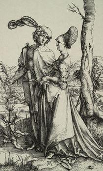 A.Duerer, Edelmann und Dame... by AKG  Images