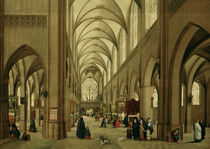 Steenwijk u.Brueghel, Antwerp.Kathedrale by AKG  Images