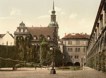 Dresden, Schloss, Stallhof / Photochrom by AKG  Images