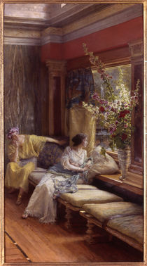 L.Alma Tadema, Vergebl.Liebesmuehe by AKG  Images