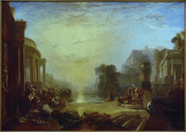 Untergang Karthagos / Gemaelde v.W.Turner von AKG  Images
