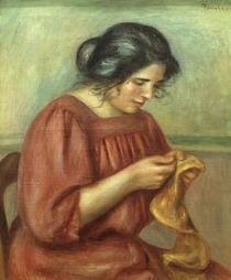 A.Renoir, Gabrielle beim Naehen von AKG  Images